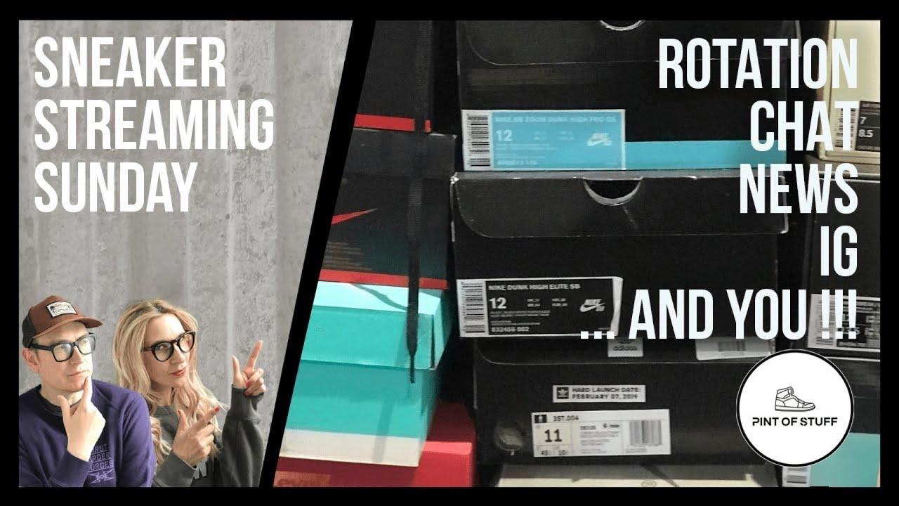 Templado Moral profundidad  Nike SB Rotation, Sneaker IG Highlights and Sneaker News : Sneaker  Streaming Sunday #140 - YouTube