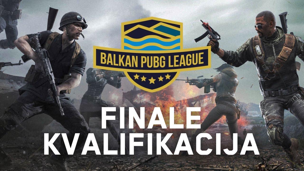 Balkan PUBG League Sezona 5 - FINALE KVALIFIKACIJA