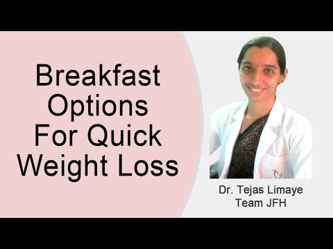 Breakfast Options For Quick Weight Loss