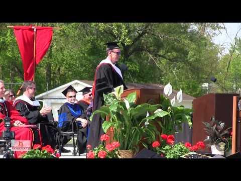 John Buccigross Heidelberg University 2017 Commencement Address