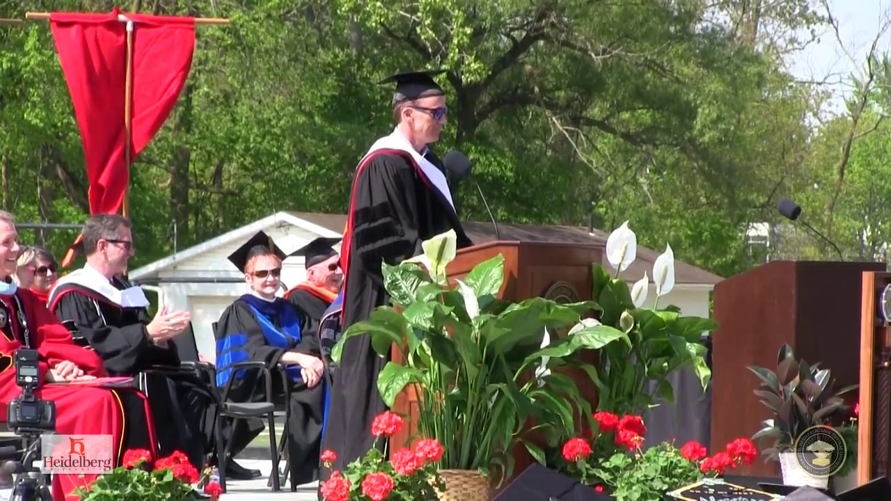 John Buccigross Heidelberg University 2017 Commencement Address