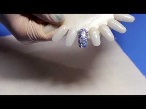 Блестки голографические для ногтей