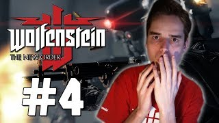 """Wolfenstein The New Order """"ONVERWACHTE WENDING!"""" #4 (Gameplay/Walkthrough)"""