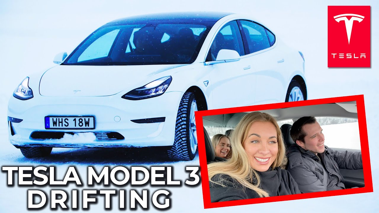 TESLA Model 3 2020 in Winter - Drift on SNOW and ICE - Is ...