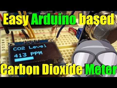 Arduino DIY CO2 PPM Meter