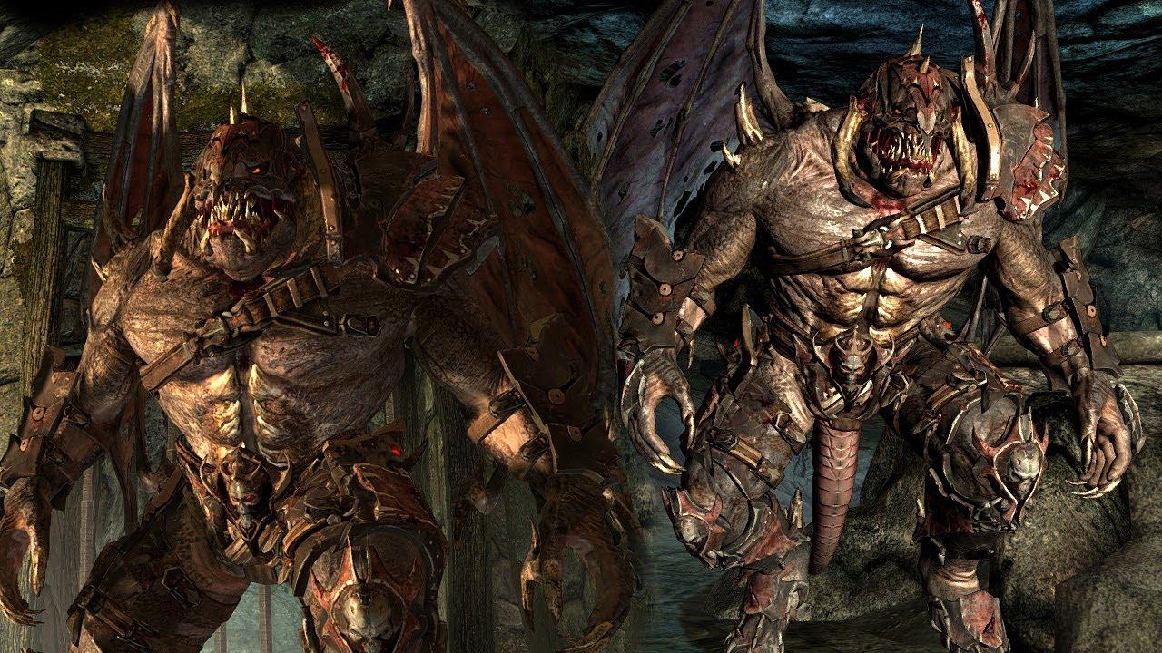 Demon werewolf skyrim - photo#8