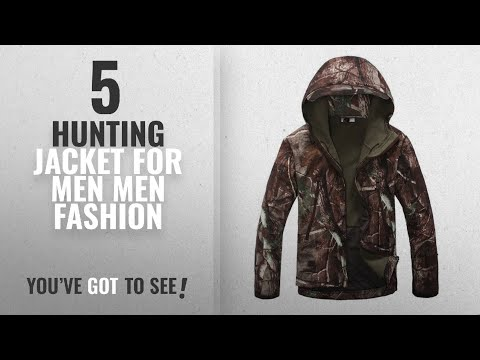 Top 10 Hunting Jacket For Men [Men Fashion Winter 2018 ]: Eglemall Men's Outdoor Hunting Soft Shell