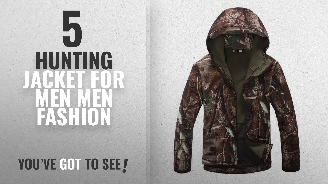 ed2bc41fc6088 Top 10 Hunting Jacket For Men [Men Fashion Winter 2018 ]: Eglemall Men's  Outdoor Hunting Soft Shell