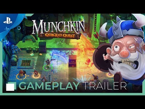 Munchkin: Quacked Quest | Gameplay Trailer | PS4