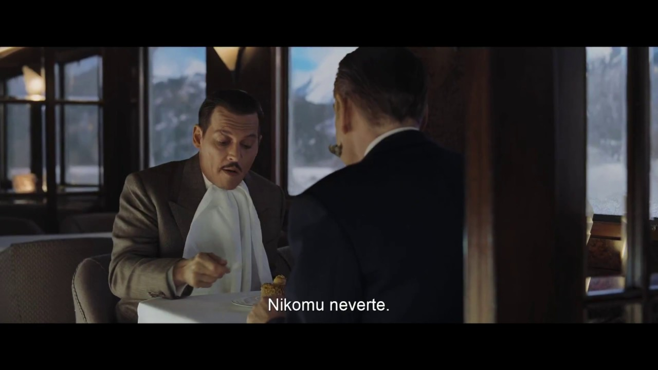 Vražda v Orient exprese (Murder on the Orient Express) - 2. oficiálny trailer