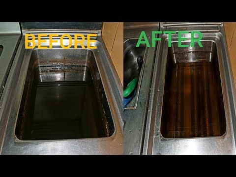 how to clean a commercial deep fryer with out baqking soda