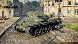 Emil II - крутой барабанный тяжелый танк перед Kranvagn