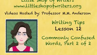 lesson 12 commonly confused words pt 2 of 2