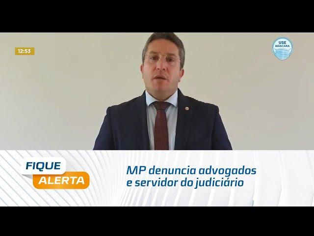 MP denuncia advogados e servidor do judiciário que acessavam sistema do TJ