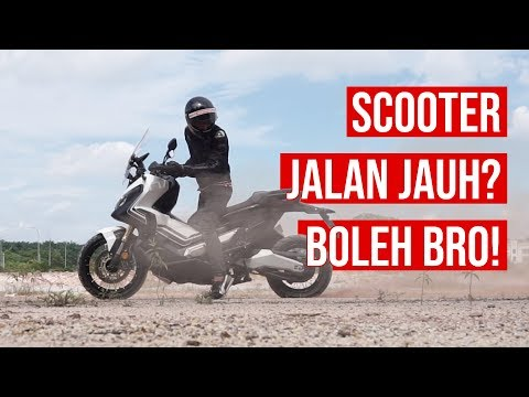 2018 Honda X-ADV | Walkaround | Balik Kampung Naik SCOOTER Je? | Part 1