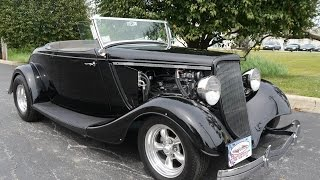 1934 Ford Roadster Downs Body TCI Chassis ***FOR SALE***