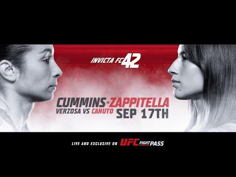 Invicta FC 42: Cummins vs Zappitella