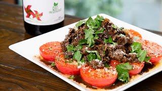 くぅ、甘酸っぱくて最高!実は牛肉とトマトって鉄板なんです!【 料理レシピ 】