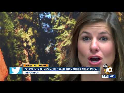 San Diego makes more waste than rest of Calif.