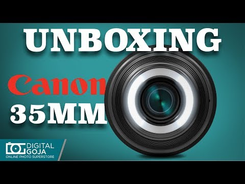 CANON EF-S 35mm f/2.8 Macro Lens | Unboxing Review & Installation
