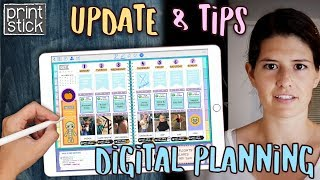 Digital Planning  Tips & Tutorial | Planner Update | PLAN WITH ME