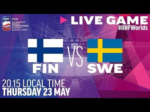 Finland-Sweden | Quarterfinals | Full Game | 2019 IIHF Ice Hockey World Championship