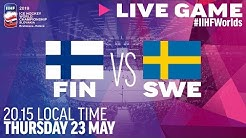 Finland-Sweden   Quarterfinals   Full Game   2019 IIHF Ice Hockey World Championship