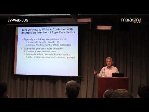 Effective Java - Still Effective After All These Years by Joshua Bloch - Video