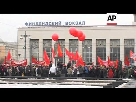 Communists hold rally against presidential election results