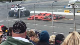 Monster Jam Halifax 2017 Freestyle, Racing, And Pits! @ Scotia Speedworld (Saturday Afternoon)