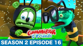 "Download Gummy Bear Show S2 E16 ""BUZZY SITTING"" Gummibär And Friends Mp3 and Videos"