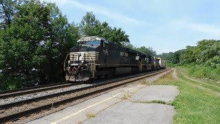 Norfolk Southern on the CSX Mohawk Sub