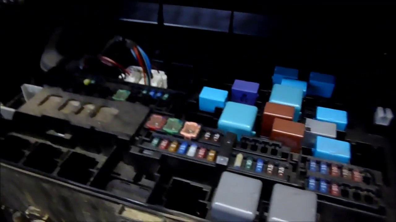 toyota tundra fuse box and obd2 scanner locations [ 1280 x 720 Pixel ]