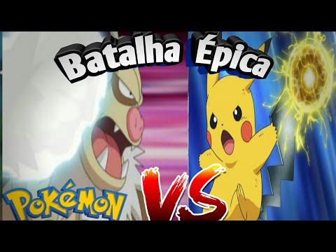 Pikachu 0% VS Slaking 100% 3000 CP , quem ganha???
