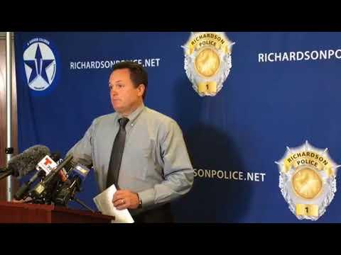 Richardson police hold presser regarding...