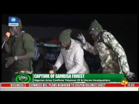Nigerian Army Confirms Takeover Of Boko Haram Headquarters