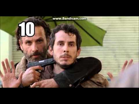 *(OUTDATED)* Rick Grimes - ALL HUMAN KILLS (Seasons 1-6) (SPOILERS)