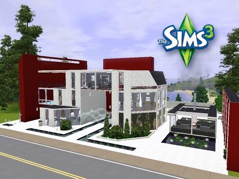 Sims 3 Haus bauen Let s build Schickes Luxushaus für