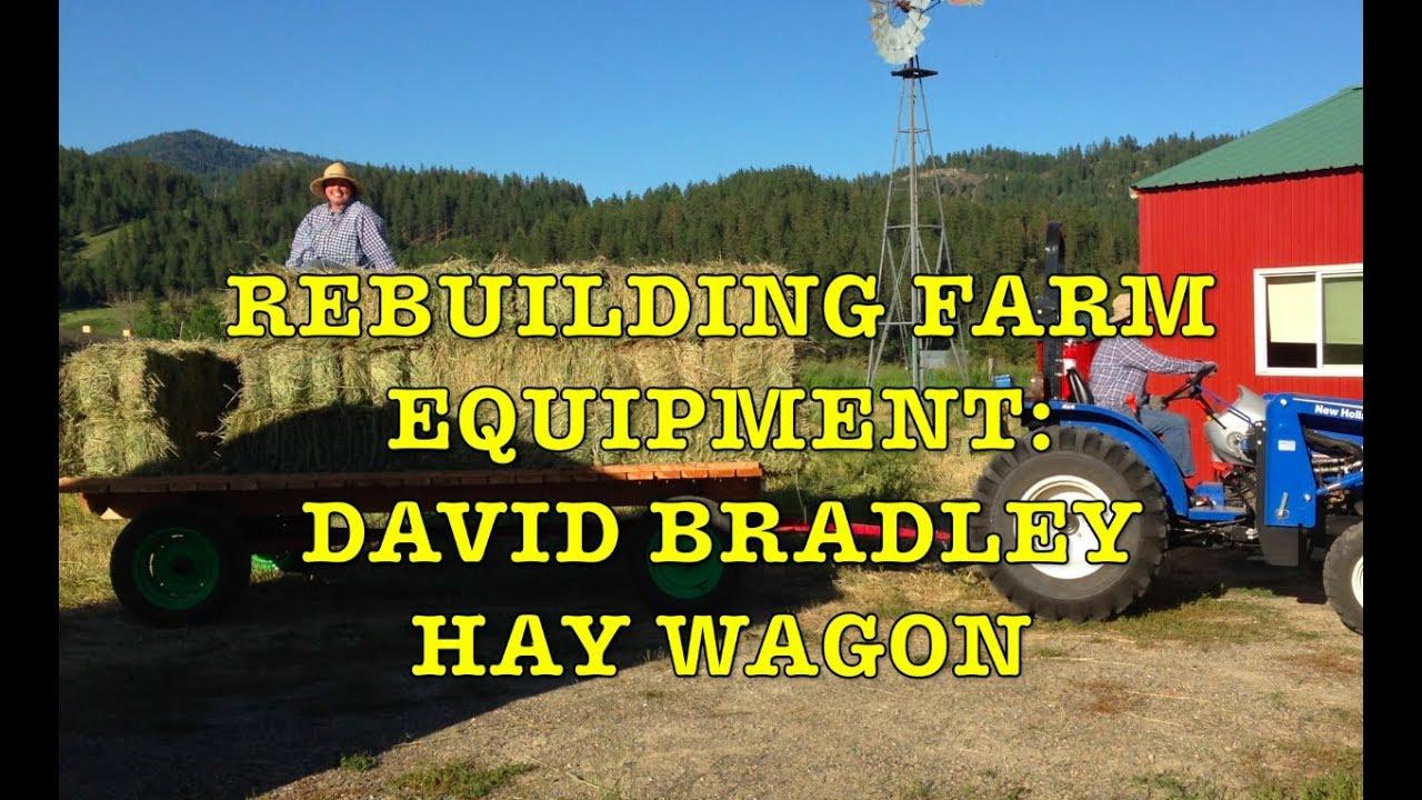 Rebuilding David Bradley Hay Wagon