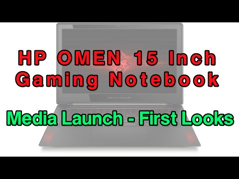HP OMEN Gaming Notebook  - First Looks