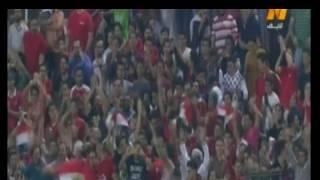 بالفيديو.. أحمد الشيخ يحتفل بهدفه مع المنتخب العسكري على طريقة أبوتريكة