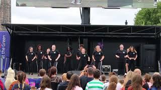 Our girls dancing Nicki Minaj | Glasgow Green | Achieve More!