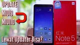 Update MIUI 9 Global Stabil ke MIUI 10 China Developer Di Xiaomi Apakah bisa Lewat Updater?