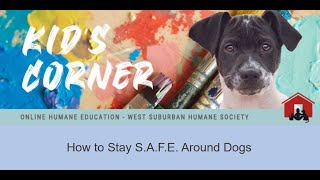 SAFE around dogs