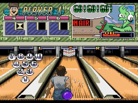 Super Bowling (SNES) Playthrough - NintendoComplete