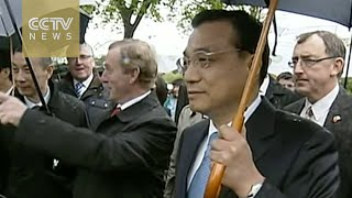 Chinese premier visits Irish family-run cow farm
