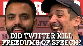 Did Twitter Kill Freedumb of Speech? | Flagrant 2 with Andrew Schulz and Akaash Singh