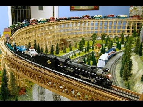 Bear Creek Railroad HO scale 8' x 11' L Shape Model ...