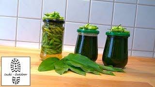 Sackis Küche: Bärlauchpaste + Bärlauchkapern
