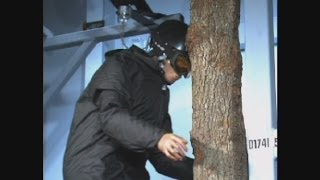 Ski Helmet - What happens when you ski into a tree at 30kph?